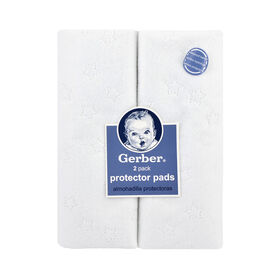 Gerber 2 Piece Water Resistant Protector Pads||Gerber 2 Piece Water Resistant Protector Pads