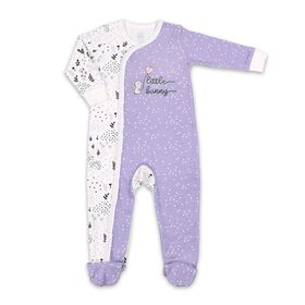 Koala Baby Cotton Sleeper Lavender Little Bunny, 0-3 Months