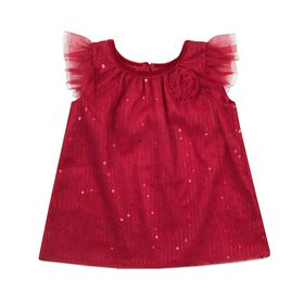 Holiday Dress - Red, 18 Months