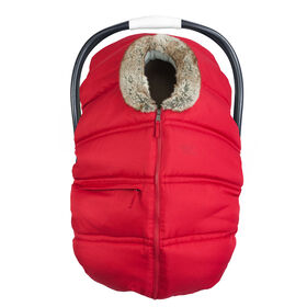 Petit Coulou  Winter Car Seat Cover - Red