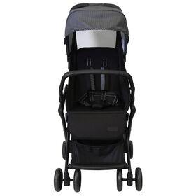 Safety 1st Cube Stroller - Black/Grey Pinstripe