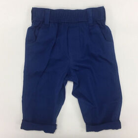 Coyote and Co. Indigo Blue Pull on Cotton Twill Pant - size 18-24 months