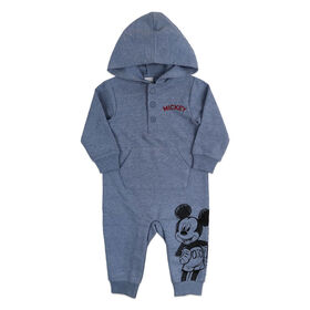 Disney Mickey Mouse Jumpsuit - Blue, 9 Months