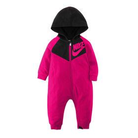 Nike Coverall - Pink, 0-3 Newborn