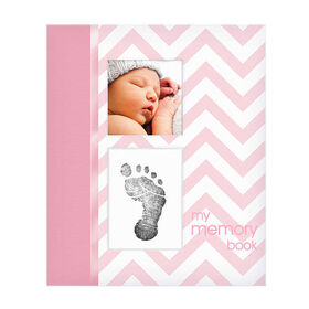 Pearhead - Livre de bébé - rose.