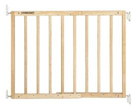 Storkcraft Wooden Essentials Ez - Thru Safety Gate - Natural
