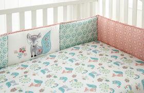 Levtex Baby Fiona 4 Piece Crib Bumper Set||Levtex Baby Fiona 4 Piece Crib Bumper Set