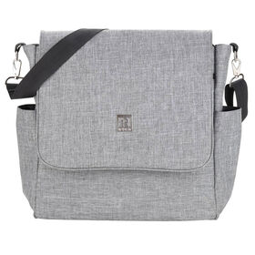 Ryco 2-in-1 backpack / Messenger Diaper Bag - Grey