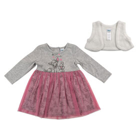 Disney Bambi 2pc Dress Set - Pink, 18 Months
