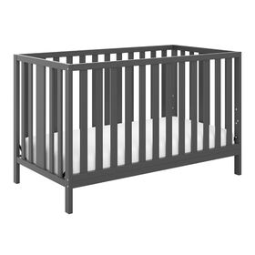 Pacific 4-in-1 Convertible Crib - Gray Storkcraft.
