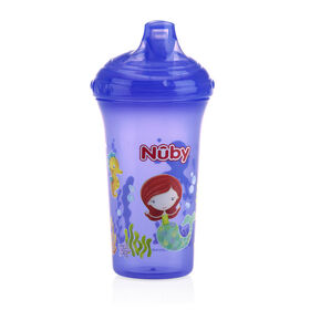 Nuby No-Spill Cup 9 oz. - Purple