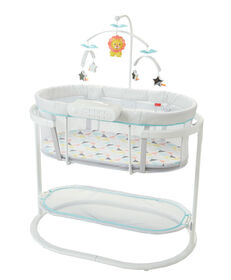 Fisher-Price Soothing Motions Bassinet.