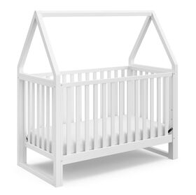 Storkcraft Orchard 5-in-1 Convertible Crib - White/White