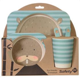 Safety 1st Bamboo Giftset - Beaver