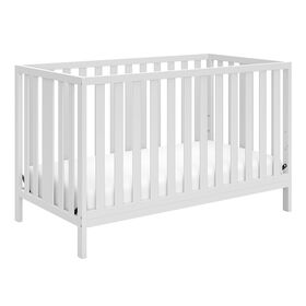 Storkcraft Pacific 4-in-1 Convertible Crib - White||Storkcraft Pacific 4-in-1 Convertible Crib - White