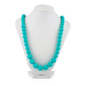 Nuby Teething Trends Beaded Teething Necklace - Aqua