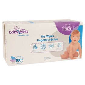 Baby Works Dry Wipes