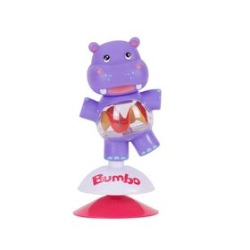 Jouet à ventouse Bumbo - Hildi l'hippopotame.