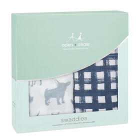 Aden & Anais 2-Pack Musklin Swaddle - Waverly