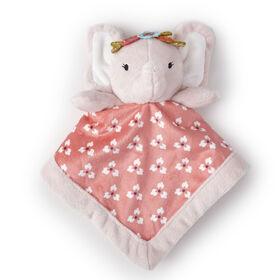 Levtex Security Blanket - Baby Pink Elephant||Levtex Security Blanket - Baby Pink Elephant