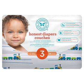 Honest Diapers Size 3 Trains