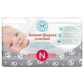 Honest Diapers Size N Pandas