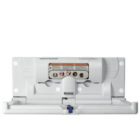 Foundations® Horizontal Surface Mount Baby Changing Station (EZ™ Mount Backer Plate Included)||Foundations® Horizontal Surface Mount Baby Changing Station (EZ™ Mount Backer Plate Included)
