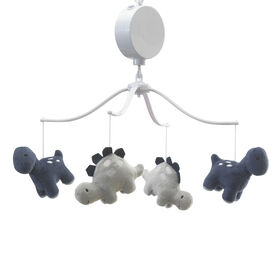 Bedtime Originals - Roar Musical Baby Crib Mobile - Blue