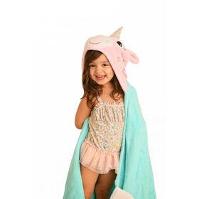 Zoocchini Toddler Towel - Allie the Alicorn