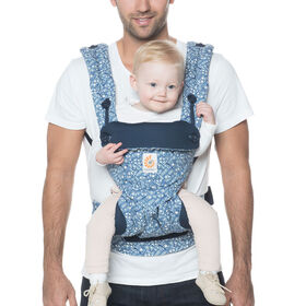 Ergobaby 360 All Carry Positions Ergonomic Baby Carrier - Batik Indigo