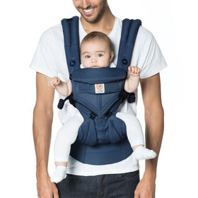 Ergobaby Omni 360 Cool Air Mesh All-in-One Ergonomic Baby Carrier - Midnight Blue