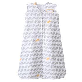 La couverture-vêtement SleepSack de Halo - Gris - Petit.