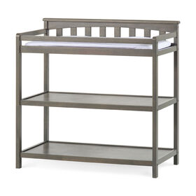 Forever Eclectic by Child Craft Wilmington Flat Top Dressing Table, Dapper Gray  Forever Eclectic by Child Craft Wilmington Flat Top Dressing Table, Dapper Gray