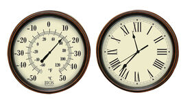 Bios Decorative Thermometer and Clock Set