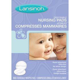 Lansinoh Disposable Nursing Pads - 60 Pack