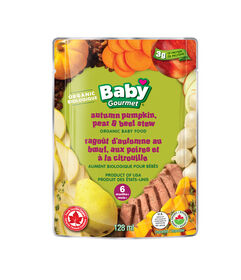 Baby Gourmet Pumpkin Pear & Beef Stew