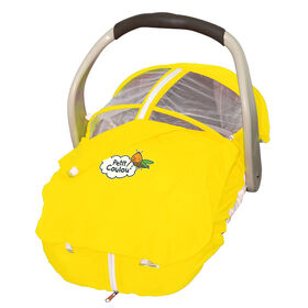 Petit Coulou Summer Car Seat Cover - Yellow