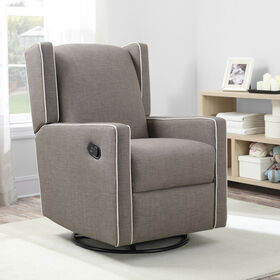 Baby Knightly Swivel Reclining Glider - Taupe