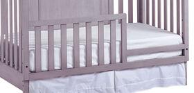 Baby Caché - Barrière de lit Windsor - Gris cendré.