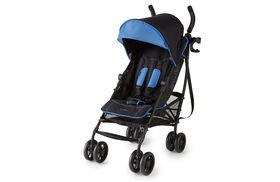 Summer Infant 3Dlite+ Ultimate Convenience Stroller - Blue Matte Black  <br>