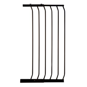 Dreambaby Chelsea Xtra-Wide Xtra-Tall Gate - 17/45cm Gate Extension - Black - R Exclusive