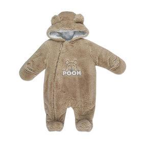 Disney's Winnie the Pooh Faux Fur Pramsuit - Brown, 6-12 Months.