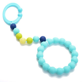 Chewbeads Stroller  Toy - Turquoise