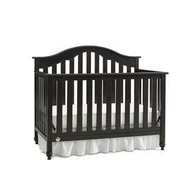Fisher-Price Kingsport Convertible Crib with Just the Right Height - Espresso