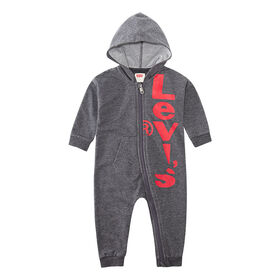 Levis Coverall - Grey, 3 Months