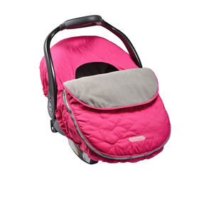 JJ Cole Car Seat Cover - Sassy Wave Pink