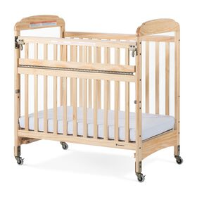 Foundations Next Gen Serenity SafeReach Compact Clearview Crib, Natural
