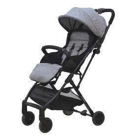 Bily Compact Easy-Fold Stroller - Heathered Grey