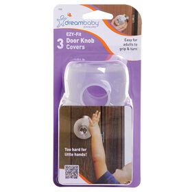 Couvre boutons de porte Dreambaby EZY-Fit - paquet de 3