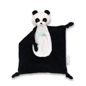 The Peanutshell Black Panda Security Plush